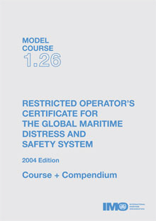 IMO GMDSS Restricted Operator's Certificate: 2015 [paper]-0