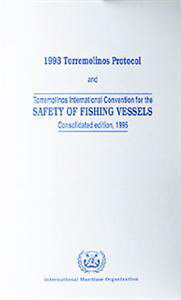 IMO Safety of Fishing Vessels: 1995 [paper]-0