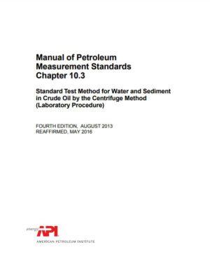 API MPMS 10.3_2013