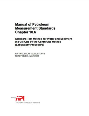 API MPMS 10.6_2013