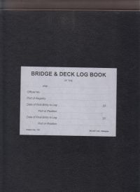 Bridge & Deck Log book: 2014 [paper]-0