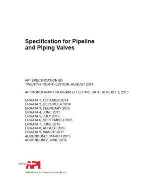 API SPEC 6D_2014