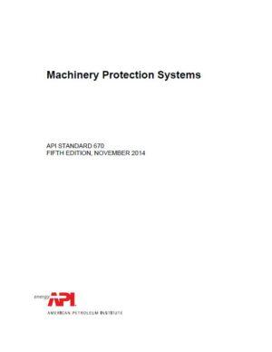 API STD 670_2014