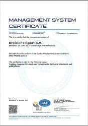 DNV certificaat