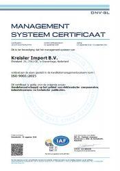 ISO certificaat Nederlands