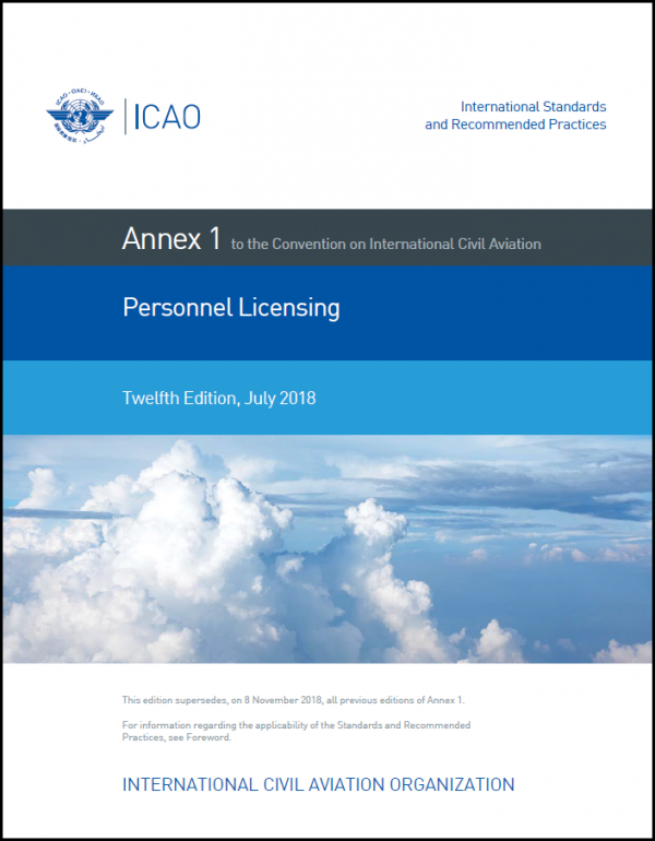 Personnel Licensing – 12th Edition.