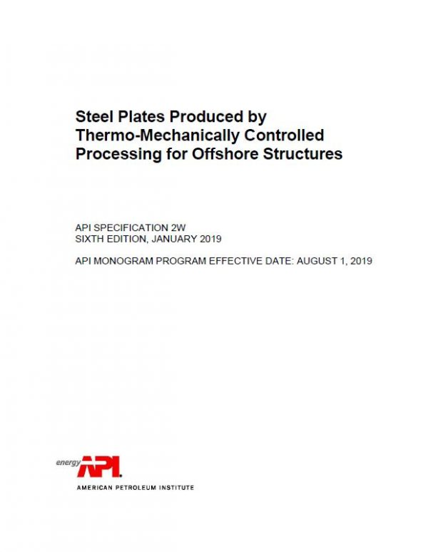 Steel Plates Produced by Thermo-Mechanically Controlled Processing for Offshore Structures