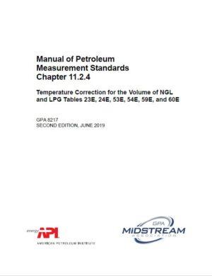 Manual of Petroleum Measurement Standards Chapter 11.2.4