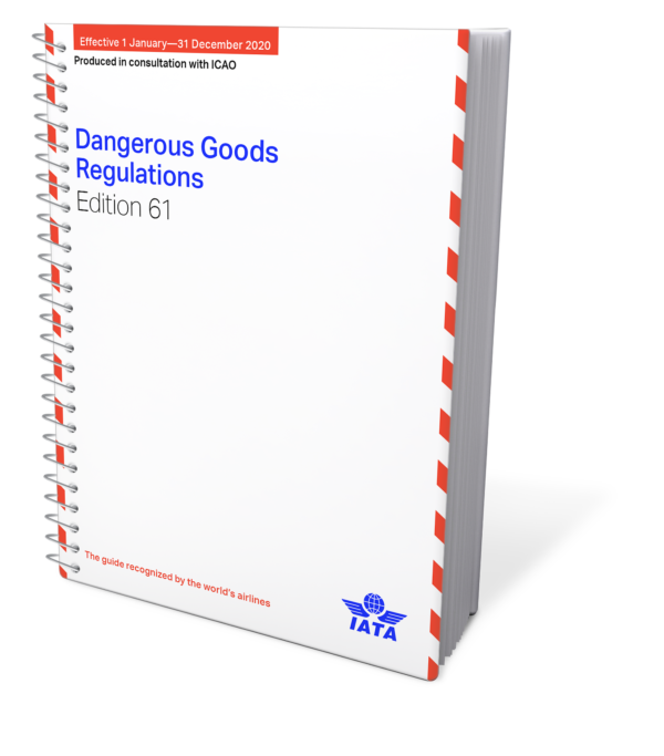 IATA Dangerous Goods Regulations, Spiral Bound.