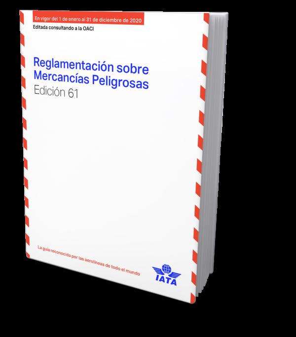 IATA Reglamentación sobre Mercancías Peligrosas, 61st Edition