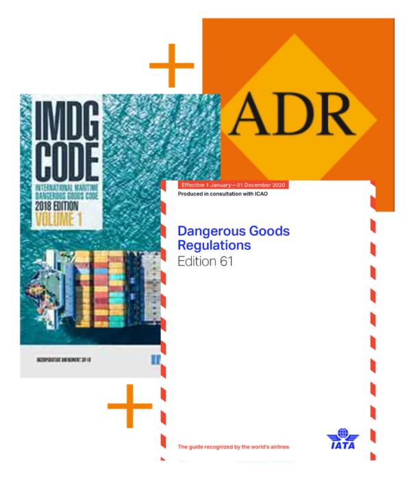ADR+IMDG+DGR COMBO 2020