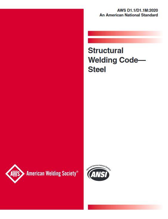 AWS D1.1/D1.1M: Structural Welding Code – Steel