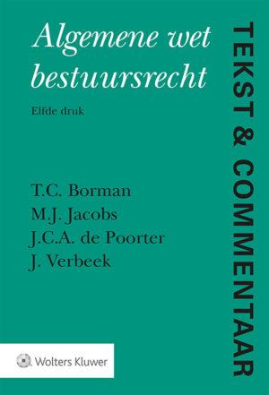 Tekst & Commentaar Algemene Wet Bestuursrecht: 2019