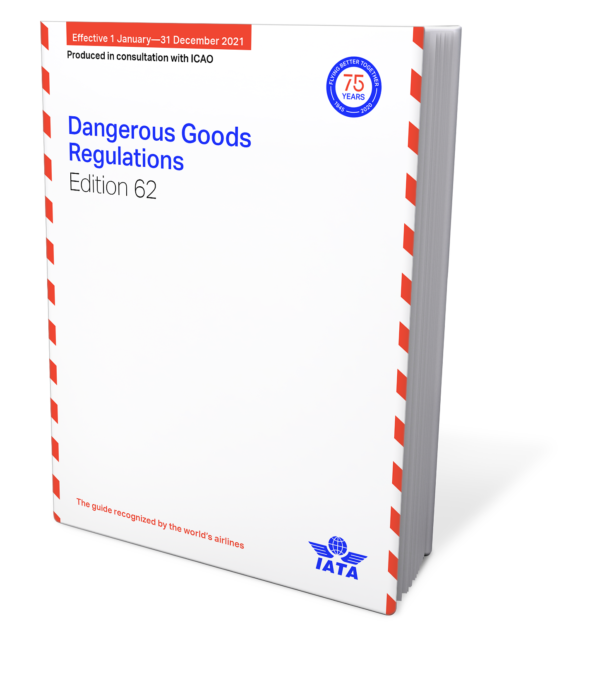 IATA Dangerous Goods Regulations 2021 – IATA DGR English