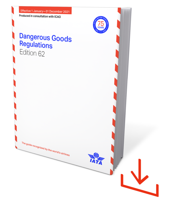 IATA Dangerous Goods Regulations 2021 – IATA DGR English download