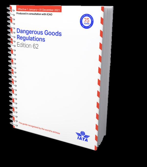 IATA Dangerous Goods Regulations Spiral Bound 2021 – IATA DGR English
