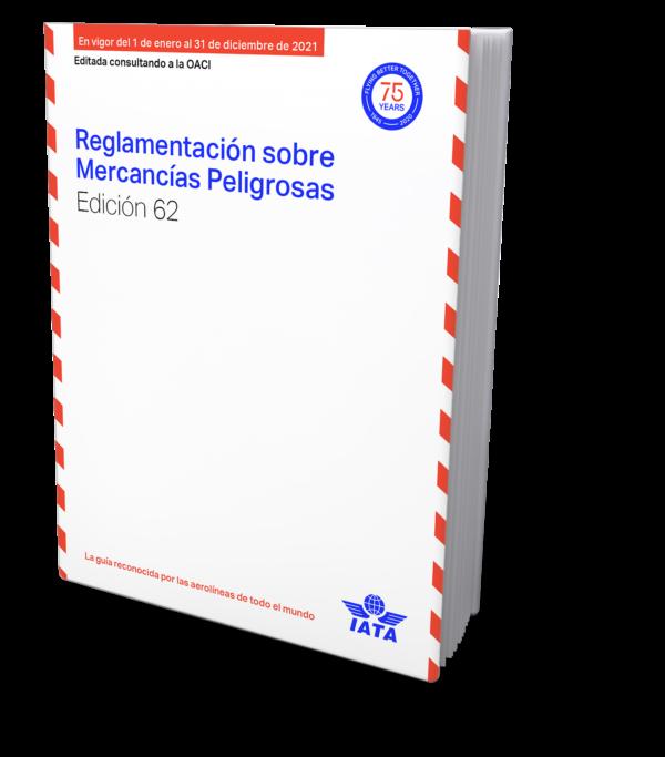 IATA Reglamentacion sobre Mercancias Peligrosas 2021 – IATA DGR Spanish