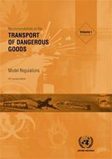 Recommendations Transport of Dangerous Goods Model Regulations 2021